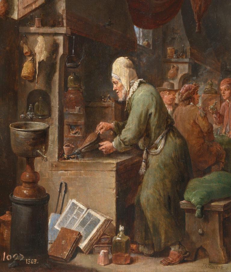 El Alquimista David Teniers Alqvimia