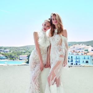 no fear novia bride wedding bridal boho dress gown