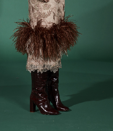 RTW evening dress fw20 brown