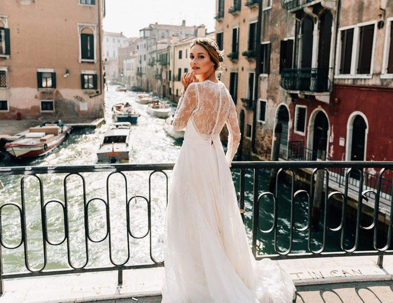 editorial de novia venecia