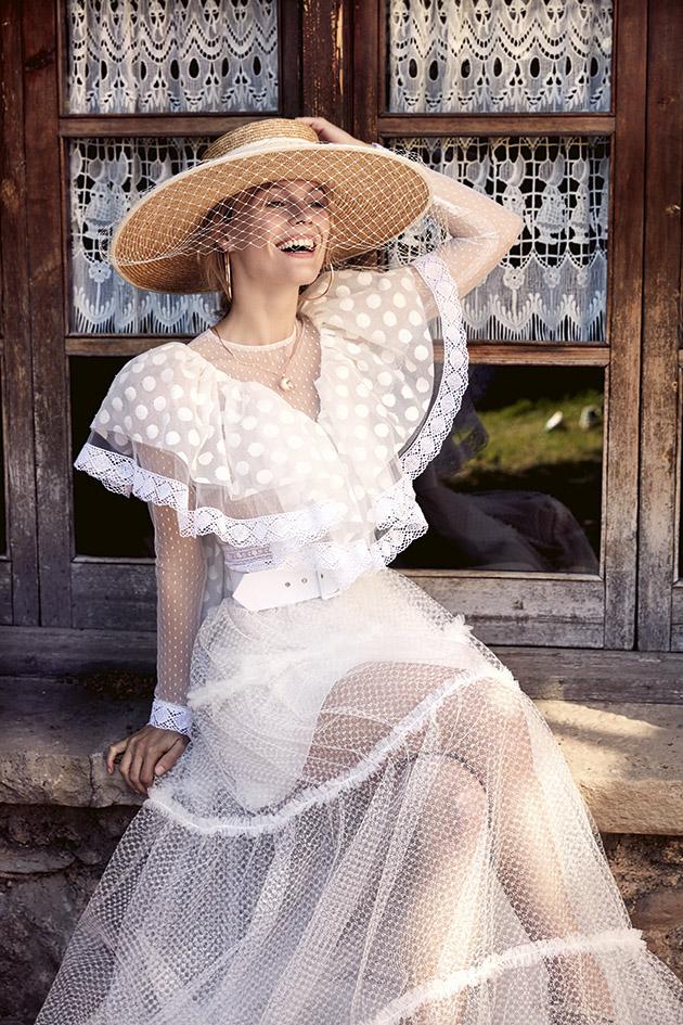 long sleeve wedding dress boho