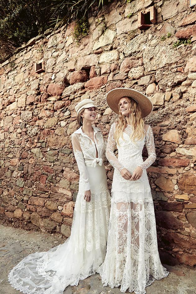 boho wedding dress winter