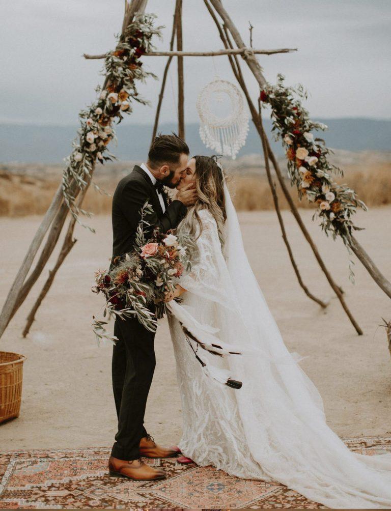 tipi boda decoracion