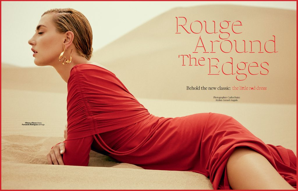 editorial vestidos de fiesta rojos robb report