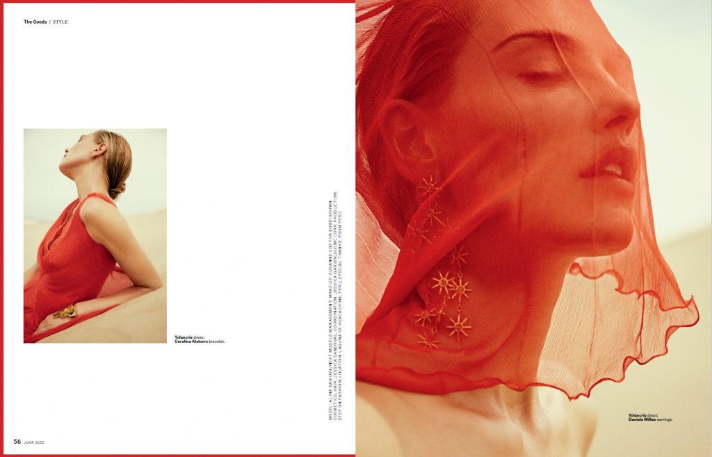 red evening dress robb report