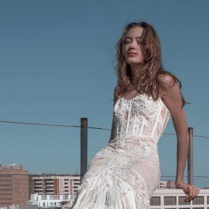 vestido de novia boho barcelona