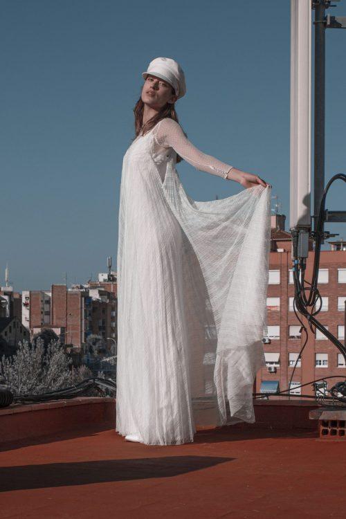 vestidos de novia encaje manga larga