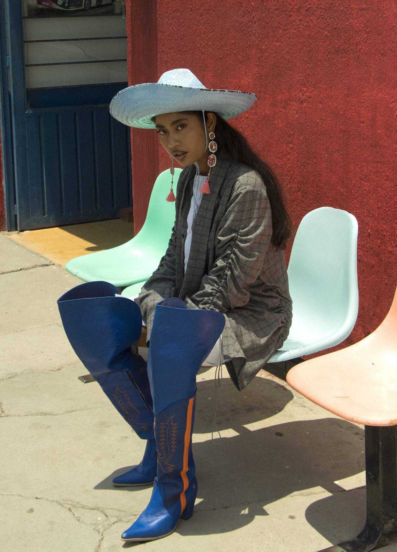 karen vega modelo oaxaqueña vogue mexico