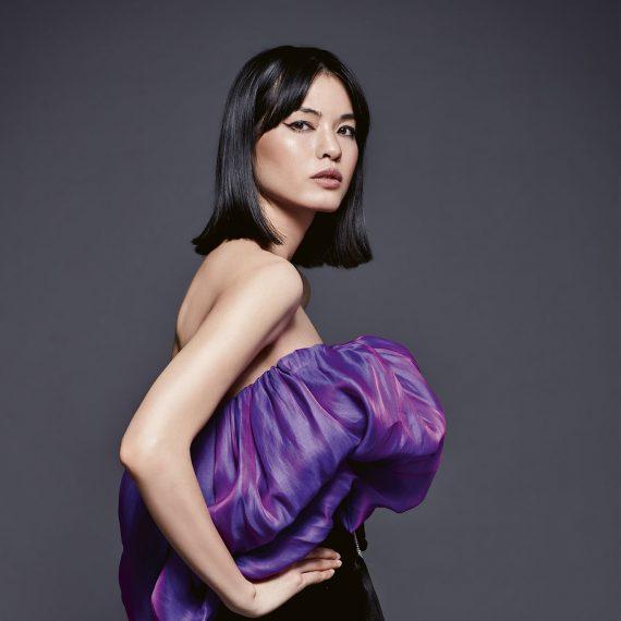 mini night dress purple black