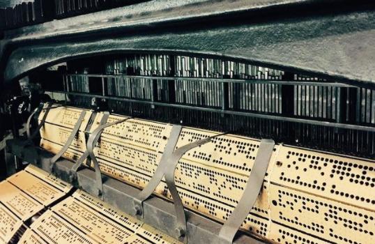 telar volart encaje artesania